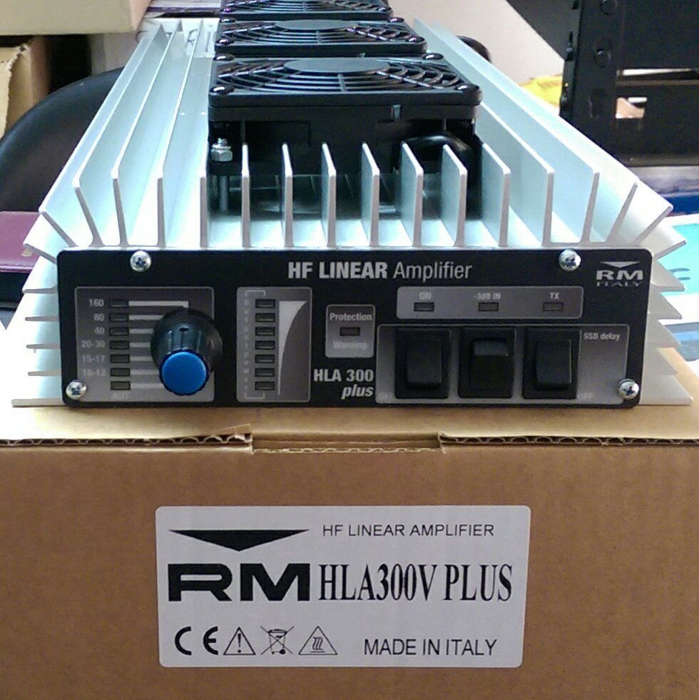 RM Italy HLA 300V Plus Professional Linear Amplifier With Fans