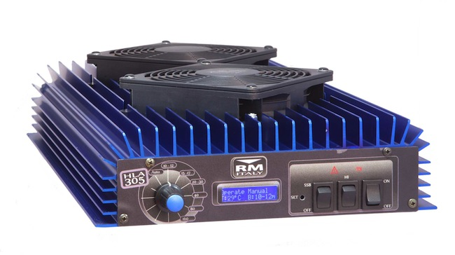 RM Italy HLA 305V Professional Linear Amplifier With Fans