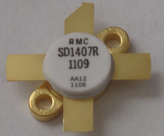 SD 1407 Transistor For R.F. Amplifiers